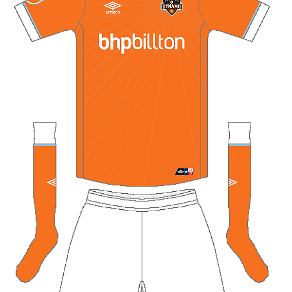 MLS x Umbro - Houston Dynamo Home