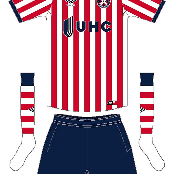 MLS x Umbro - New England Revolution Away