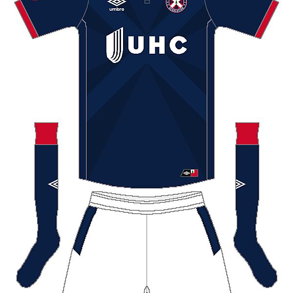 MLS x Umbro - New England Revolution Home