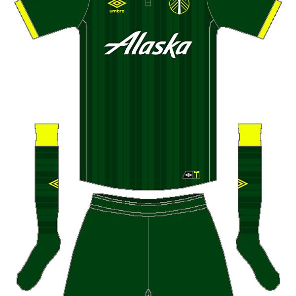 MLS x Umbro - Portland Timbers Home