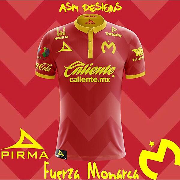Monarcas Morelia 2018 Pirma Away  Kit