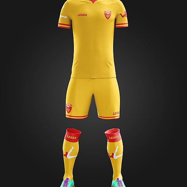 Montenegro - Away