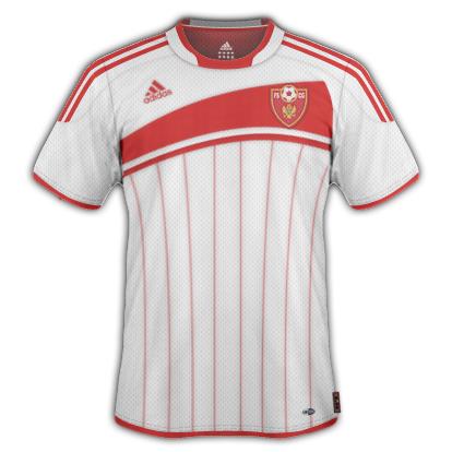 Montenegro Away Shirt 2010