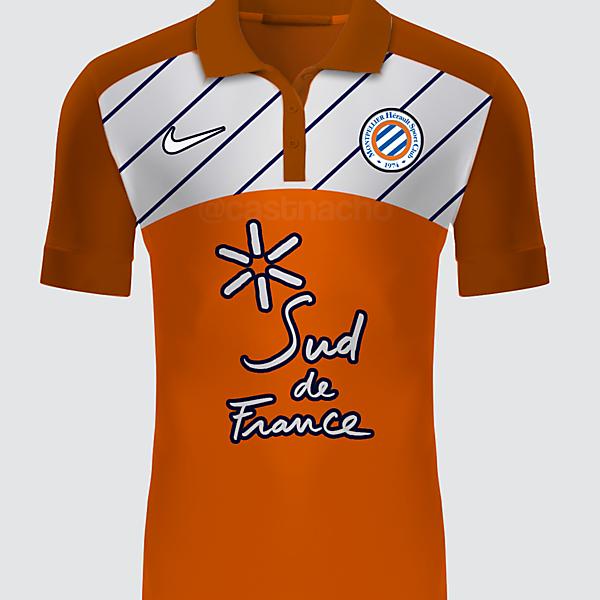 Montpellier HSC Nike Away Kit 2016/17