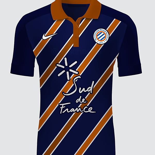 Montpellier HSC Nike Home Kit 2016/17