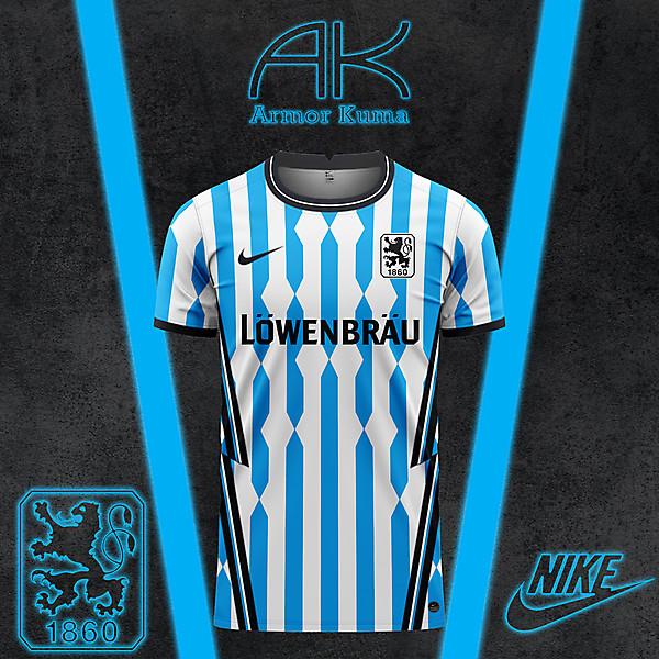 Munich 1860 Nike Home Kit