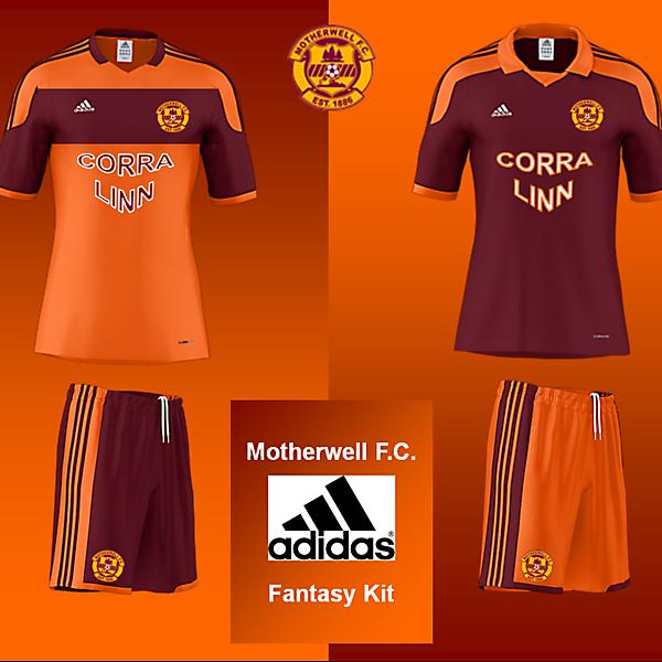 Motherwell FC - Fantasy Adidas Kits