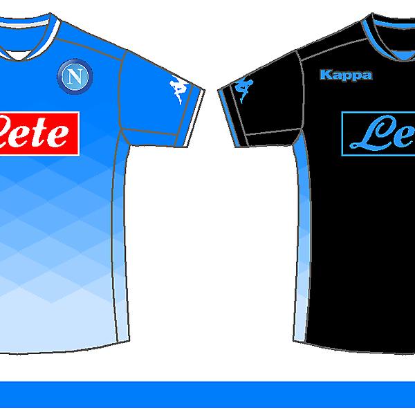 Napoli - Home and Away Kits