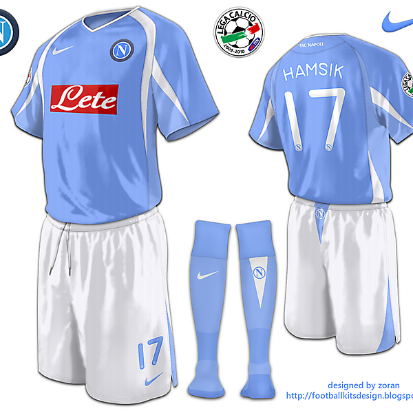 SSC Napoli fantasy home