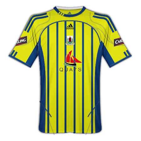 Newry City Home, Away and Third