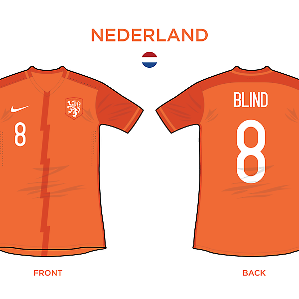 Nederland Home 2016/17
