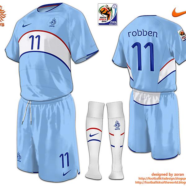 Netherlands World Cup 2010 fantasy away