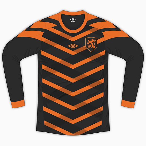 Netherlands Away Kit - Umbro