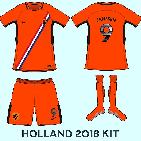 Netherlands Home Kit Based Ob Leaks