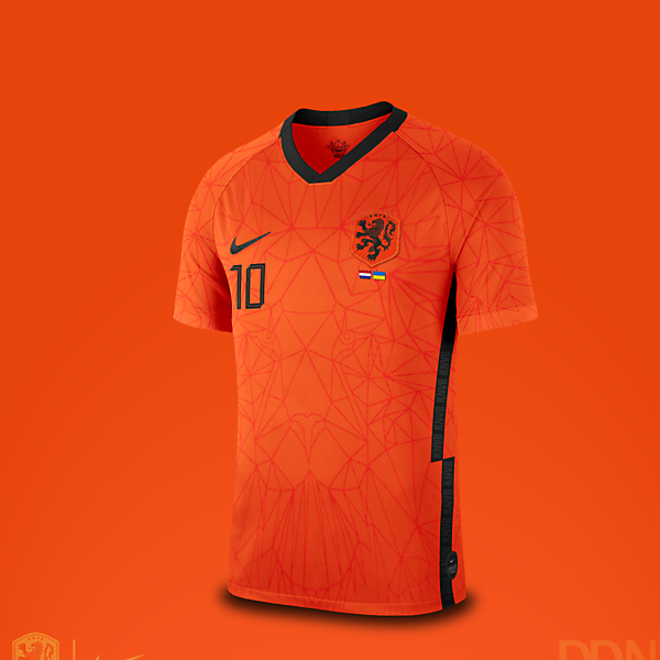 Netherlands Nike Euro 2021 Home Kit