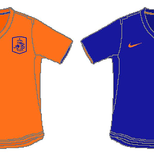 Netherlands Nike World Cup Kits