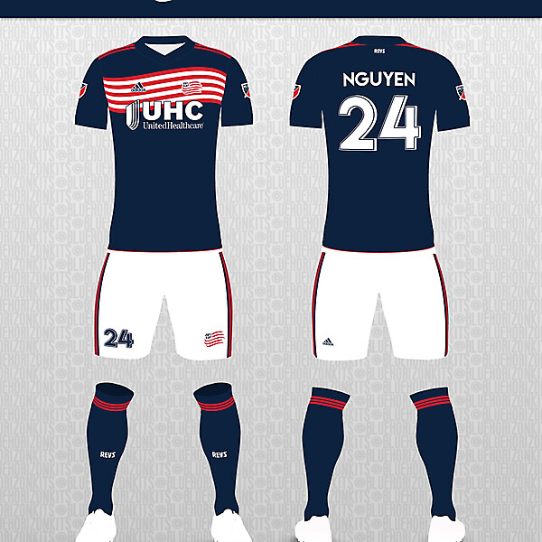 New England Revolution Home Kit