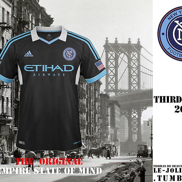 NEW YORK CITY FOOTBALL CLUB Third Fantasy Kit Jersey