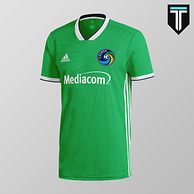 New York Cosmos Home Kit Concept