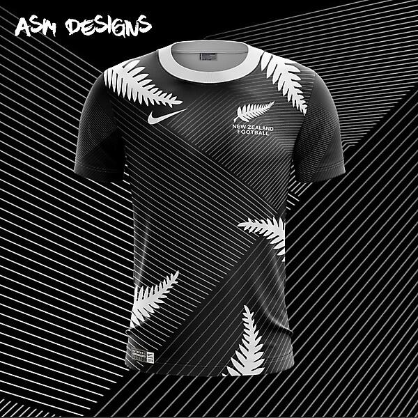 New Zealand Nike 2018 Home Kit