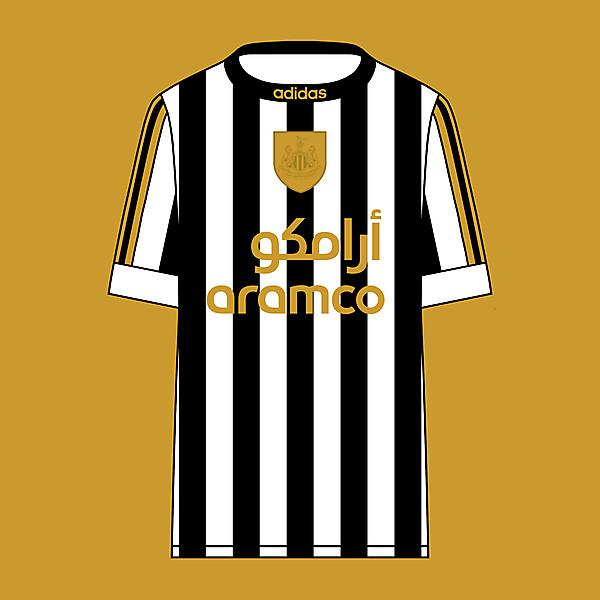 Newcastle United - Adidas - Home Kit