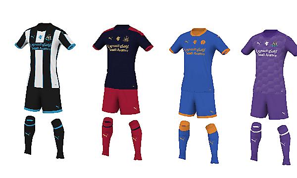 Newcastle United - Fantasy Kit