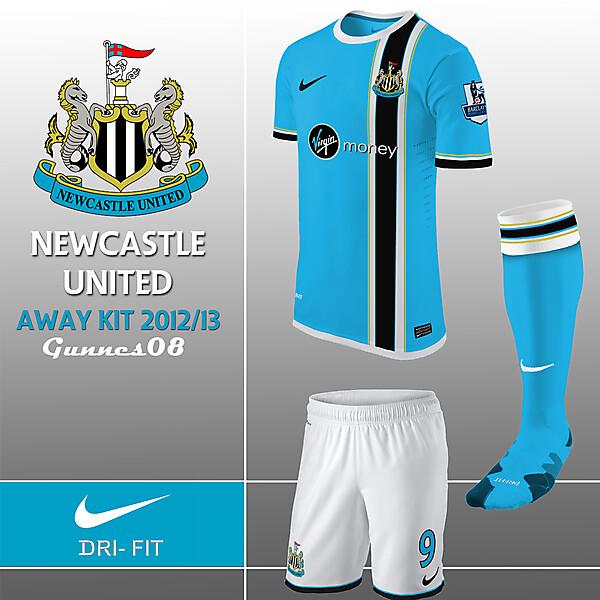 New Castle United Away Kit 2012-13
