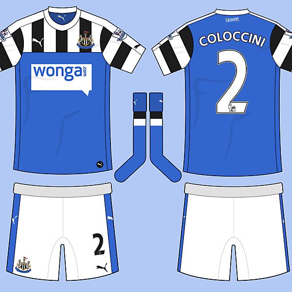 Newcastle United Away Kit