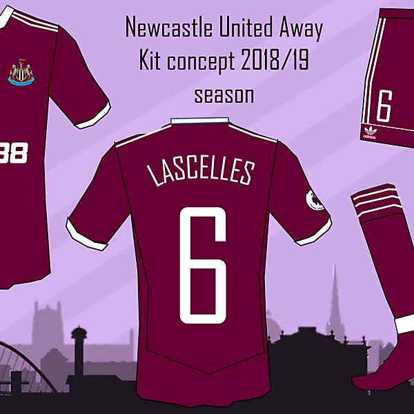 Newcastle United Away Kit 2018/19