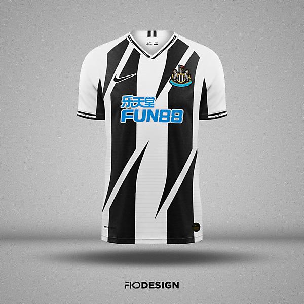 Newcastle United FC || Nike || Home