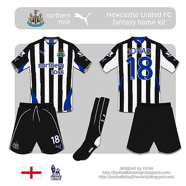 Newcastle United fantasy home