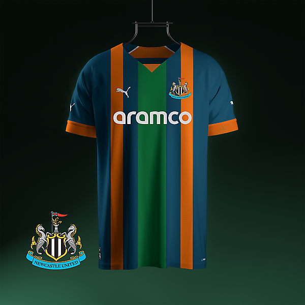 Newcastle Utd X Puma away concept