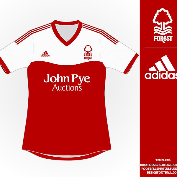 Nottingham Forest adidas Kit