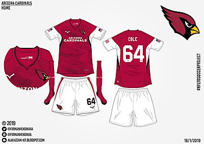 #NFLtoSoccerProject - Arizona Cardinals (Home)