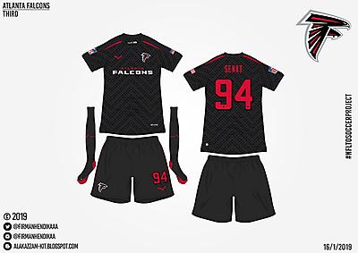 #NFLtoSoccerProject - Atlanta Falcons (Third)