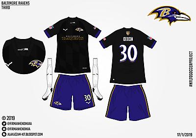 #NFLtoSoccerProject - Baltimore Ravens (Third)