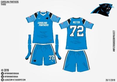 #NFLtoSoccerProject - Carolina Panthers (Third)