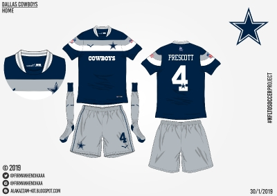 #NFLtoSoccerProject - Dallas Cowboys (Home)