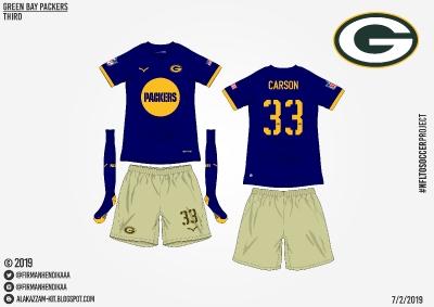 #NFLtoSoccerProject - Green Bay Packers (Third)