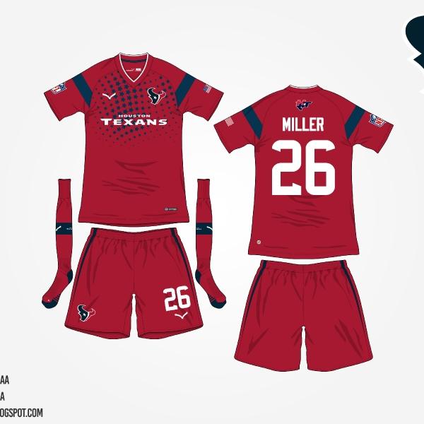 #NFLtoSoccerProject - Houston Texans (Third)