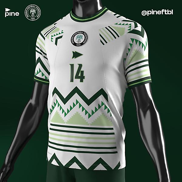 Nigeria Away x Pine