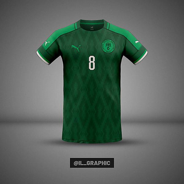 Nigeria Home Kit x Puma  - African Concept