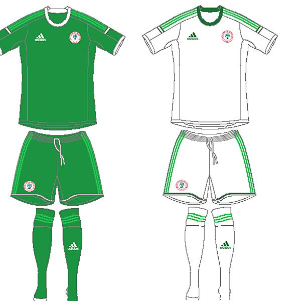Nigeria - Home and Away