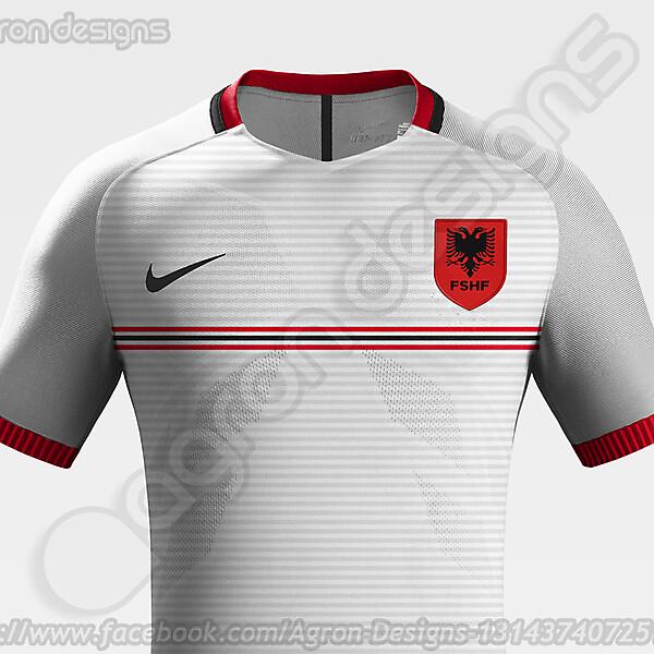 Nike Albania NT Away Kit Concept