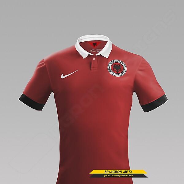 NIKE ALBANIA NT EURO 2016 FANTASY HOME KIT (BY AGRON META)