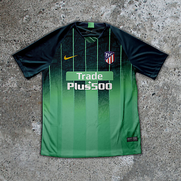 Nike Atletico Madrid Third Jersey Concept (@ryndesign11)