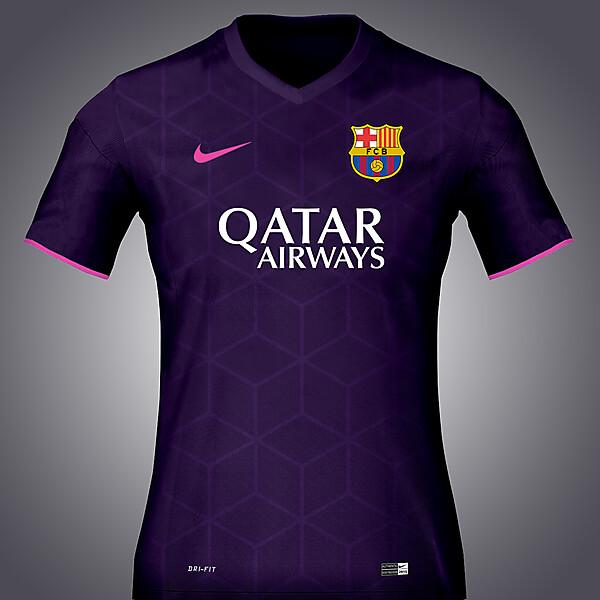 Nike Barcelona 16-17 Away concept