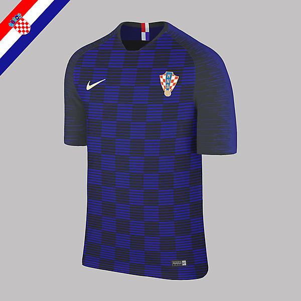 Nike Croatia Away Jersey 2018 Concept