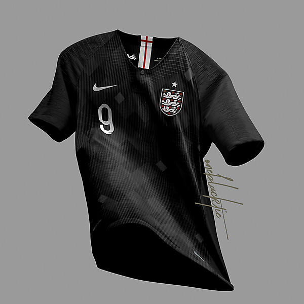 Nike England Blackout Jersey Concept
