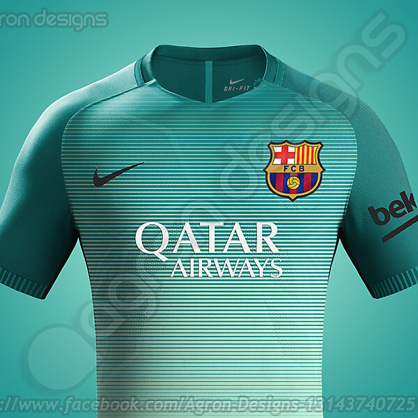 Nike Fc Barcelona 2016-17 Third Kit Possible (Updated)
